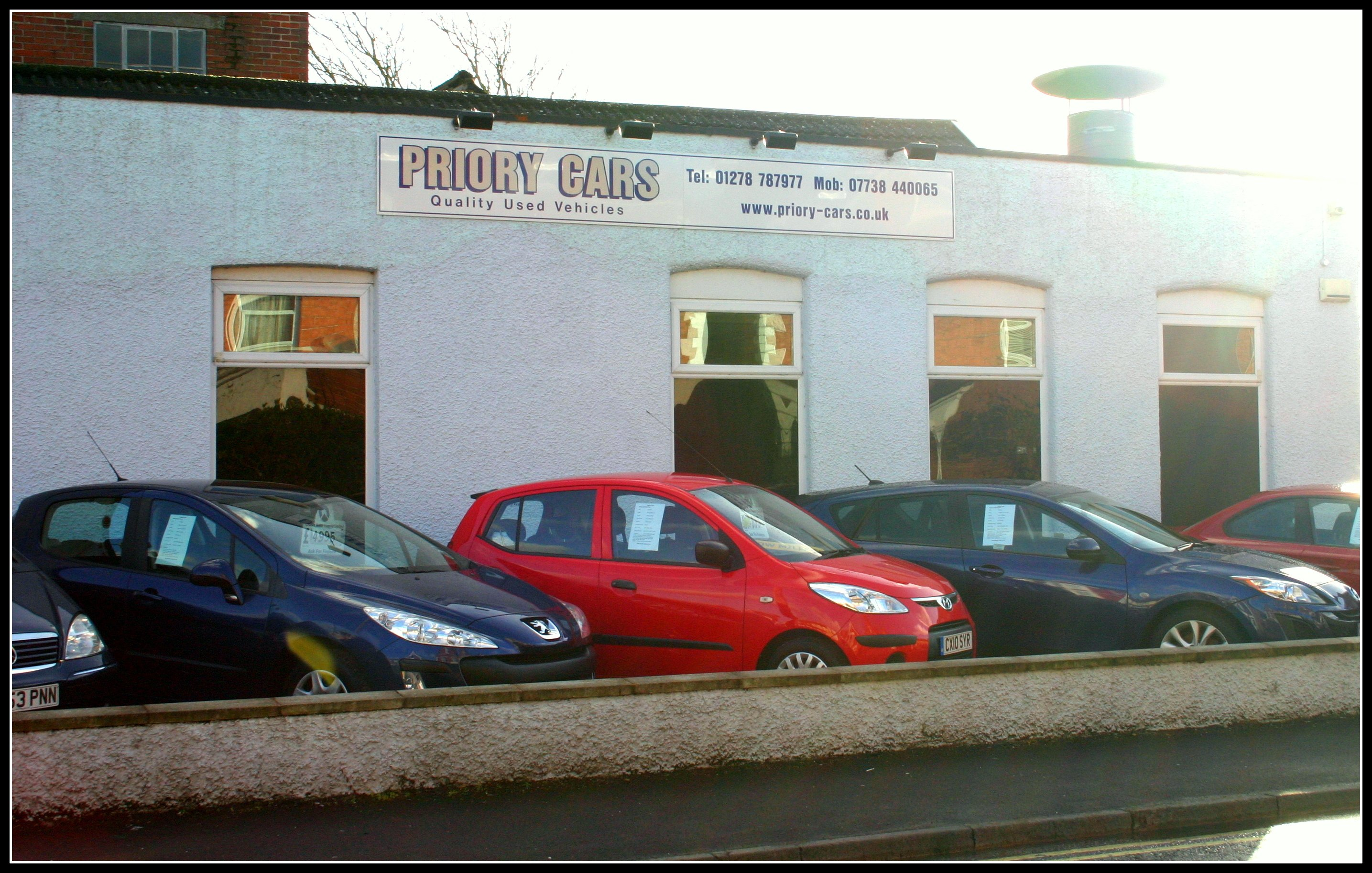Contact Us Priory Cars